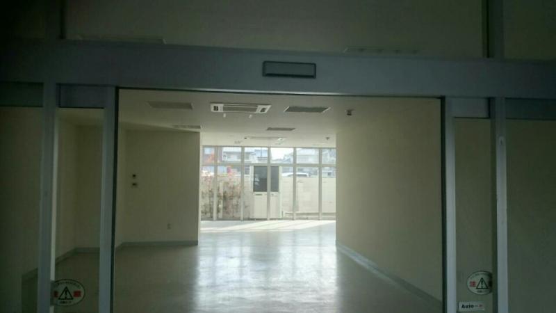 内装工事前の写真